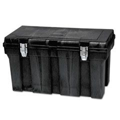 Tool Box, 36w x 18-1/2l x 20-1/8h, Polypropylene, Black