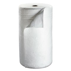 "High-Capacity Petroleum Sorbent Roll, 38"" x 144ft, 73gal Capacity"
