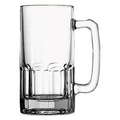 Gusto Beer Mug, Glass, 1 Liter, Clear, 12/Carton