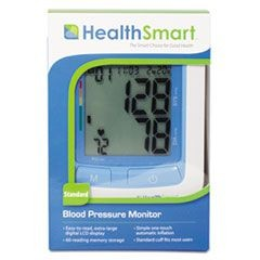 Standard Automatic Arm Digital Blood Pressure Monitor, Adult, White