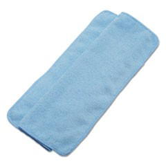 Lightweight Microfiber Cleaning Cloths, Blue,16 x 16, 24/Pack