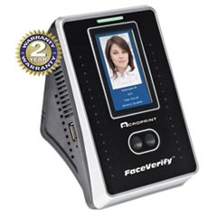 timeQplus FaceVerify System, 4 x 3 x 6, Black