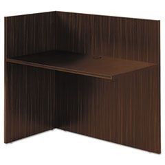 Valencia II Series Reversible Reception Return, 42w x 23 5/8d, Espresso