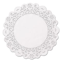 "Brooklace Lace Doilies, Round, 5"", White, 2000/Carton"