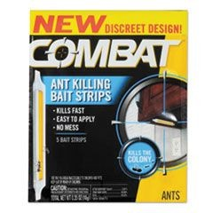 Ant Bait Insecticide Strips, 0.35 oz, 5/Box