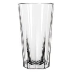 "Inverness Glass Tumblers, Cooler, 15.25oz, 6 1/8"" Tall, 24/Carton"