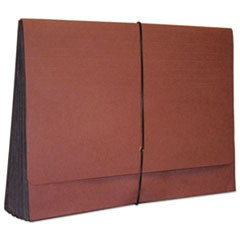 "Economy Grade Expanding Wallet, 5 1/4"" Expansion, Legal, Redrope"