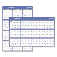 Vertical/Horizontal Erasable Wall Planner, 24 x 36, 2019