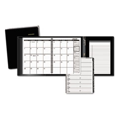 Plus Monthly Planner, 6 7/8 x 8 3/4, Black, 2016