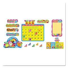 Owl-Stars! Calendar Bulletin Board Set, 17 1/2 x 23 1/4, 100 Pieces