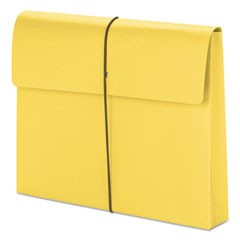 "2"" Exp Wallet with String, Letter, Yellow, 10/BX"