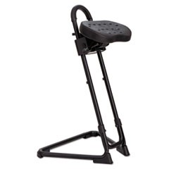 Alera SS Series Sit/Stand Adjustable Stool, Black