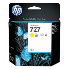 B3P15A (HP-727) Ink, 40 mL, Yellow