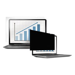 "PrivaScreen Blackout Privacy Filter for 12.1"" Widescreen LCD/Notebook, 16:10"