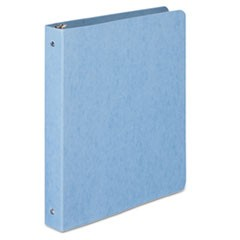 "PRESSTEX Round Ring Binder, 1"" Cap, Light Blue"