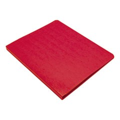 "PRESSTEX Grip Binder, 5/8"" Cap, Executive Red"
