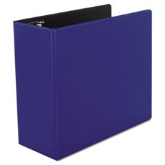 "D-Ring Binder, 5"" Capacity, 8-1/2 x 11, Royal Blue"