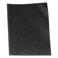 VeloBind Presentation Covers, 11 x 8-1/2, Black, 50/Pack