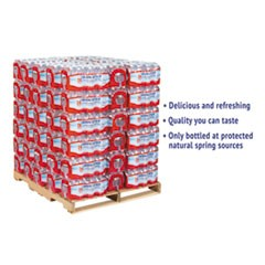 Alpine Spring Water, 16.9 oz Bottle, 24/Case, 84 Cases/Pallet