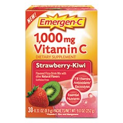 Immune Defense Drink Mix, Strawberry Kiwi, 0.31 oz Packet, 30/Box