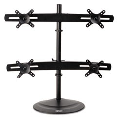 Wall Mount For Desktop Displays, Steel/Aluminum, 10 1/4 x 29 x 26, Black