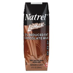 Milk, 2% Reduced Fat Chocolate Milk, 8 oz Tetra Pack, 18/Carton