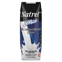 Milk, 2% Reduced Fat Milk, 8 oz Tetra Pack, 18/Carton