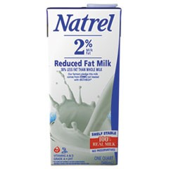 Milk, 2% Reduced Fat Milk, 32 oz Tetra Pack, 12/Carton