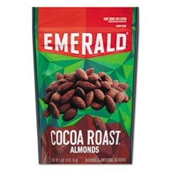 Cocoa Roasted Almonds, 5 oz Pack, 6/Carton