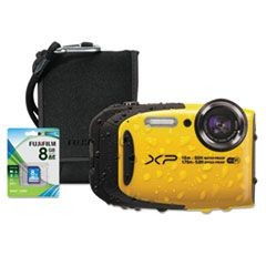 XP80 Digital Camera Bundle, Tracking Auto Focus, 16 MP, Black