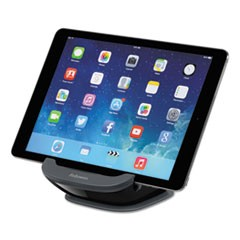 I-Spire Series Tablet SuctionStand, 5 x 5 3/4 x 3 3/8, Black/Gray