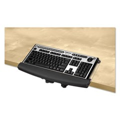 I-Spire Series Desktop Edge Keyboard Lift, 18 4/9 x 8 3/8, Black/Gray