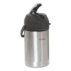 2.5 Liter Lever Action Airpot, Stainless Steel