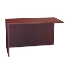 BL Series Return Shell, 48 1/4w x 24d x 29h, Mahogany