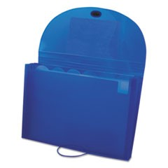 Specialty Expanding Files, Letter, 7-Pocket, Blue