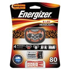 LED Headlight, 3 AAA, Orange