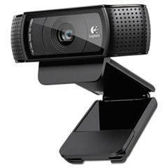 C920 HD Pro Webcam, 1080p, Black