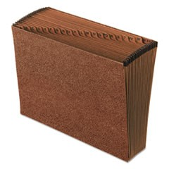 Redrope Open Top Indexed Expanding File, 21 Pockets, Letter, Redrope