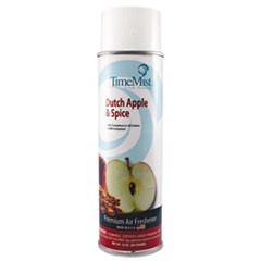 Premium Hand-Held Air Freshener, Dutch Apple & Spice, 10oz Aerosol, 12/Carton