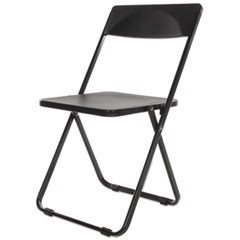 Folding Chair, Black, 4/Carton