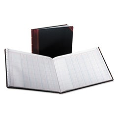 Columnar Accounting Book, 12 Column, Black Cover, 150 Pages, 8 1/8 x 10 3/8
