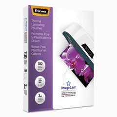 ImageLast Laminating Pouches with UV Protection, 3 mil, 11 1/2 x 9, 100/Pack