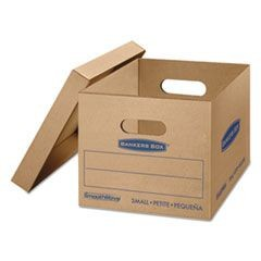 SmoothMove Classic Moving Boxes, 15l x 12w x 10h, Kraft, 20/Carton