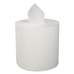"Center-Pull Roll Towels, 1-Ply, 12""W, 1000/Roll, 4/Carton"