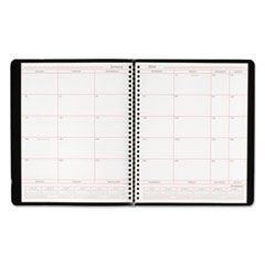 Monthly Planner in Business Week Format, 8 x 10, White, 2016