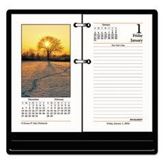 Photographic Desk Calendar Refill, 3 1/2 x 6, 2016
