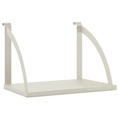 Vers� Panel System Hanging Shelf, 24w x 12-3/4d, Gray