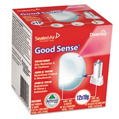 Good Sense Automatic Spray System, Fresh Scent, Yellow, 0.67 oz Cartridge, 12/CT