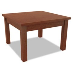 Alera Valencia Series Occasional Table, Rectangle, 23-5/8 x 20 x 20-3/8, Cherry