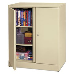 Easy-to-Assemble Storage Cabinet, 36w x 18d x 42-3/4h, Putty